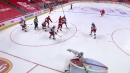 Bobby Ryan's lightning quick release right off the faceoff gets past Korpisalo