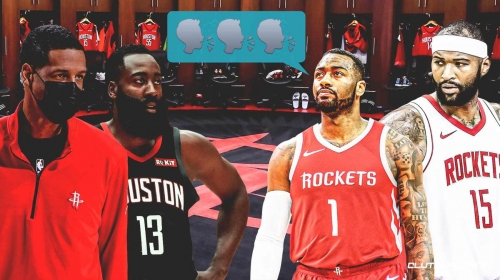 Rockets' John Wall, DeMarcus Cousins called out James Harden in tense locker room meeting before trade