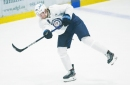 Jets star Patrik Laine listed day-to-day with upper-body injury