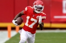 Chiefs-Browns snap counts: LBs stabilize; Hardman and Williams play more