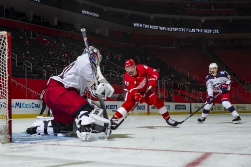 Wings can't capitalize, drop 3-2 decision to the Jackets