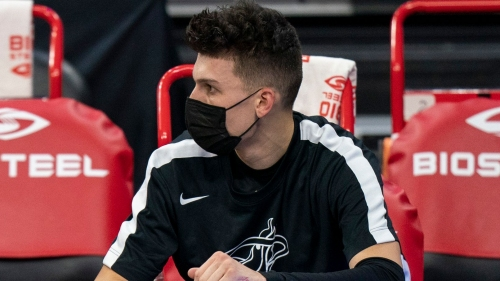 Tyler Herro out again Monday for Heat against Pistons
