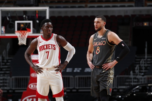 Oladipo's Rockets debut spoiled in 125-120 loss to Bulls