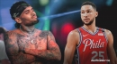 Chris Brown pissed off with comparison to Sixers star Ben Simmons