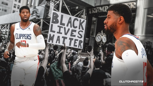 Paul George says there's beauty in fighting for social justice