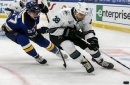 Games with Blues are a welcome change of scenery for Sharks team without a home