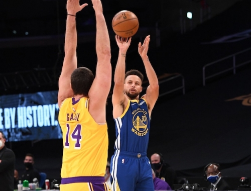 Recap: Warriors Come Back To Snap Lakers' 5-Game Winning Streak