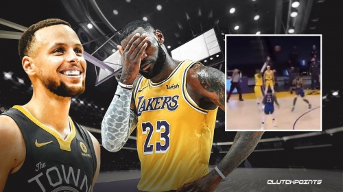 VIDEO: LeBron James' game-winning shot attempt for Lakers vs. Warriors