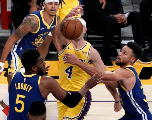 Frank Vogel: Lakers 'Outplayed' By Warriors In Second Half