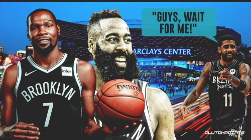 Kevin Durant, James Harden's dominance together shows Nets don't even need Kyrie Irving