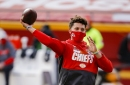 Patrick Mahomes remains in concussion protocol as of Tuesday afternoon, per report