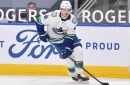 Elias Pettersson Fined For Hit On Sean Monahan