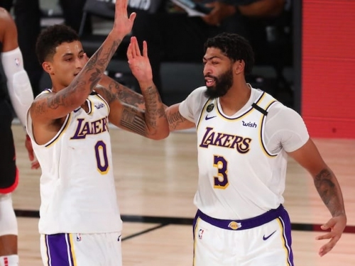 Anthony Davis, Kyle Kuzma Reflect On Lakers Replacing Warriors As Next Potential Dynasty