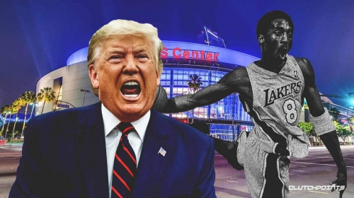 Donald Trump wants to honor Lakers legend Kobe Bryant with a statue