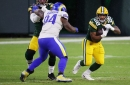 Packers defeated Rams defense by creating mismatches for their running backs