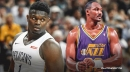 Zion Williamson's physique gets frank assessment from Karl Malone