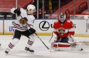 Watch: Blackhawks' Philipp Kurashev scores first career NHL goal