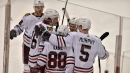 Chicago Blackhawks claim their 1st point of the season but lose to the Florida Panthers 5-4 in overtime