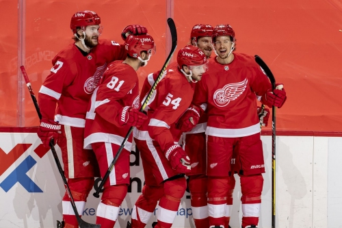 Blink and you'll miss it! Wings beat Jackets in 3-2 in OT.