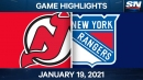 Hughes' three points lead Devils over Rangers
