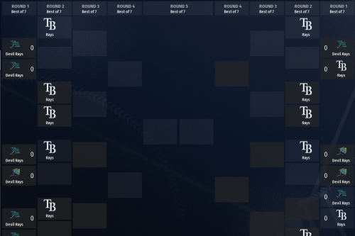 DRB Bracket Madness: Rays seasons play-in round results