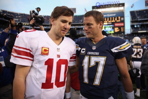 Philip Rivers joins Giants' Eli Manning in retirement