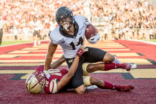 2021 NFL Draft prospect profile: Sage Surratt, WR, Wake Forest