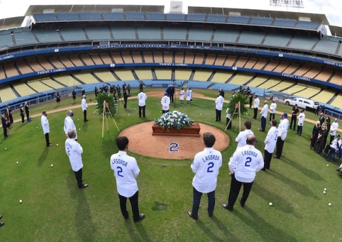 Dodgers News: Justin Turner, Eric Karros Among Attendees For Tommy Lasorda Ceremony