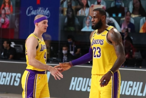 Lakers News: Alex Caruso Recalls First Gaining LeBron James' Trust