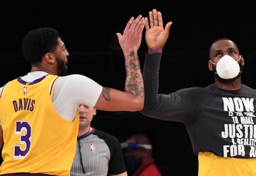 Steve Kerr: Lakers Have Perfect Foundation With LeBron James, Anthony Davis