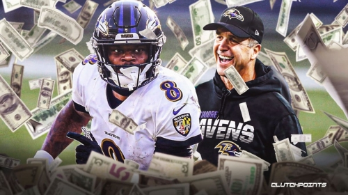 Ravens coach John Harbaugh teases Lamar Jackson contract extension