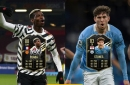 Man Utd's Paul Pogba and Man City's John Stones feature in FIFA 21 TOTW 17 squad