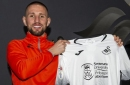 Aston Villa fans pay tribute to Conor Hourihane as he departs