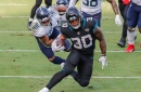 Jaguars RB James Robinson named to PWFA All-Rookie Team