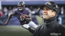 Amid Lamar Jackson's struggles passing, Ravens coach John Harbaugh defends aggressive rushing strategy