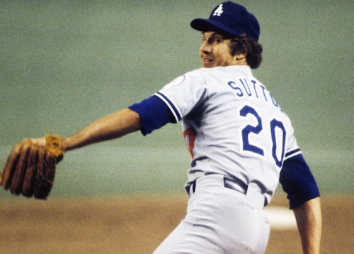 Dodgers Mourn Death Of Hall Of Fame Pitcher Don Sutton