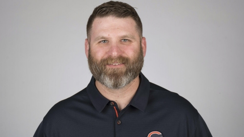Chicago Bears defensive line coach Jay Rodgers is expected to leave town to join the Los Angeles Chargers, creating another vacancy on Matt Nagy's staff