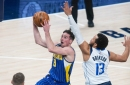 Photos: Pacers host Mavericks in NBA action