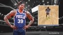 VIDEO: Sixers' Dwight Howard tests long-range prowess with strange free-throw routine