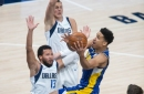 Mavericks shred Pacers' interior defense without Myles Turner's rim protection
