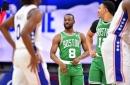 Tatum-less Celtics fall to the Sixers 117-109