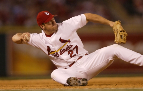 Former Cardinal Rolen is skyrocketing in Hall of Fame esteem