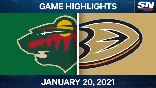 Wild use third period goal to top Ducks