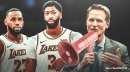 Warriors' Steve Kerr reiterates the truth about the Lakers having LeBron James, Anthony Davis