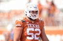Bevo's Daily Roundup: Report: Former Texas OL Sam Cosmi is No. 5 at position in 2021 NFL Draft