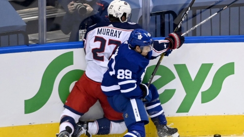 Maple Leafs place Nick Robertson on long-term injured reserve