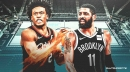 The reason Kyrie Irving smiled during Collin Sexton's 42-point explosion over Nets