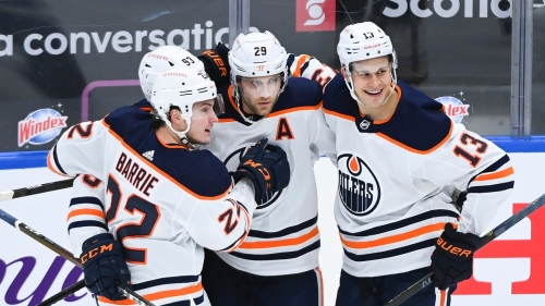 Oilers' Tyson Barrie reflects on his season with Maple Leafs