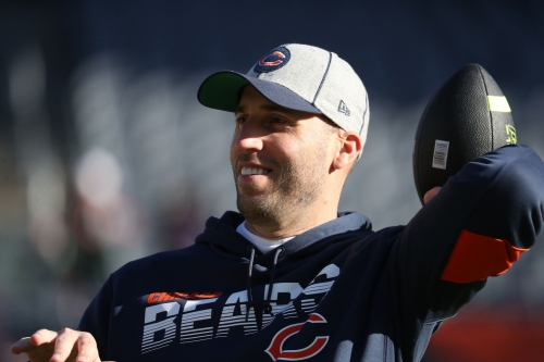 Pass game coordinator Dave Ragone leaves the Chicago Bears to become the Atlanta Falcons offensive coordinator; running backs coach Charles London reportedly also is on the move