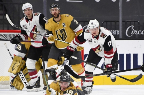 Golden Knights preparing for first road trip of season, and their fans are coming